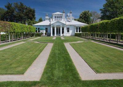 Towards the house, Richmond Garden