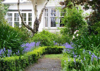 House + Bluebells
