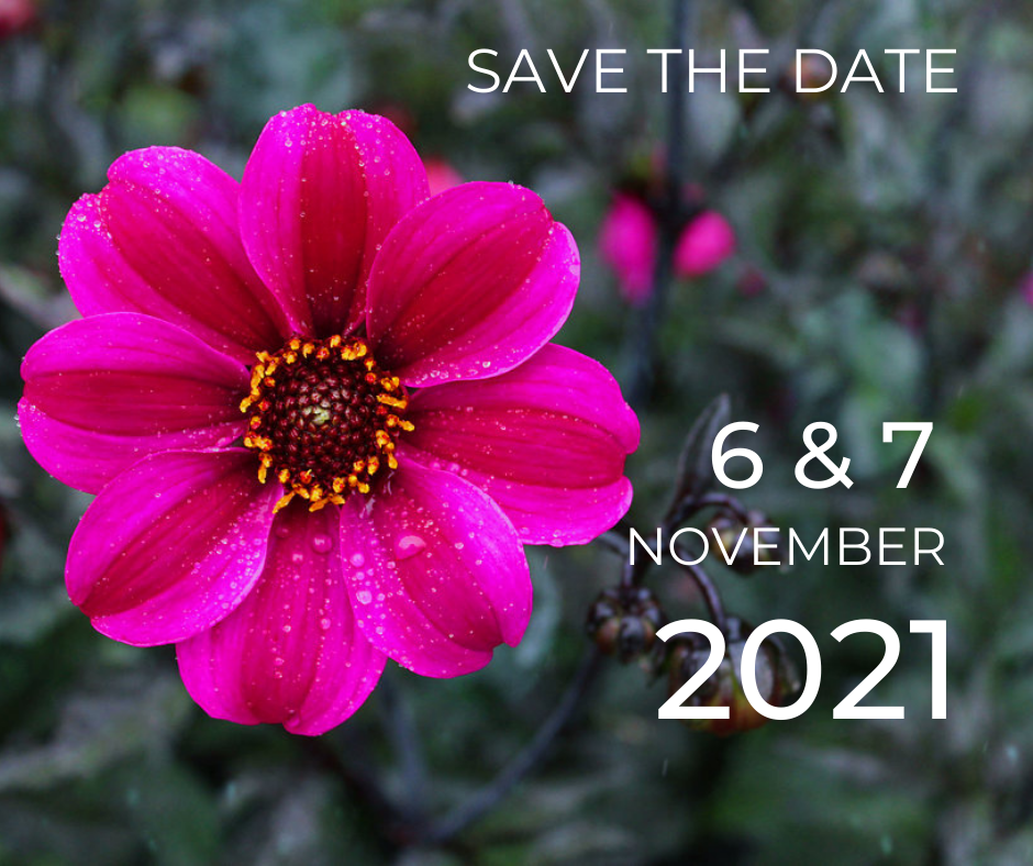Save The Date 6 & 7 November 2021